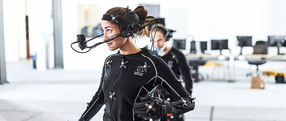 Motion Capture Studio - Head Mounted Camera